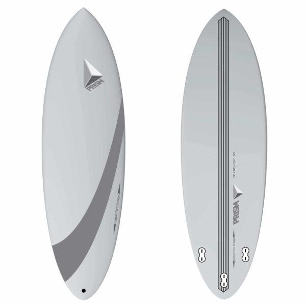 Planche de surf Carbone Hybride 5'8