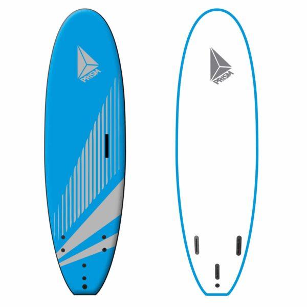 Softboard 6'0 avec poignée Prism Surfboards