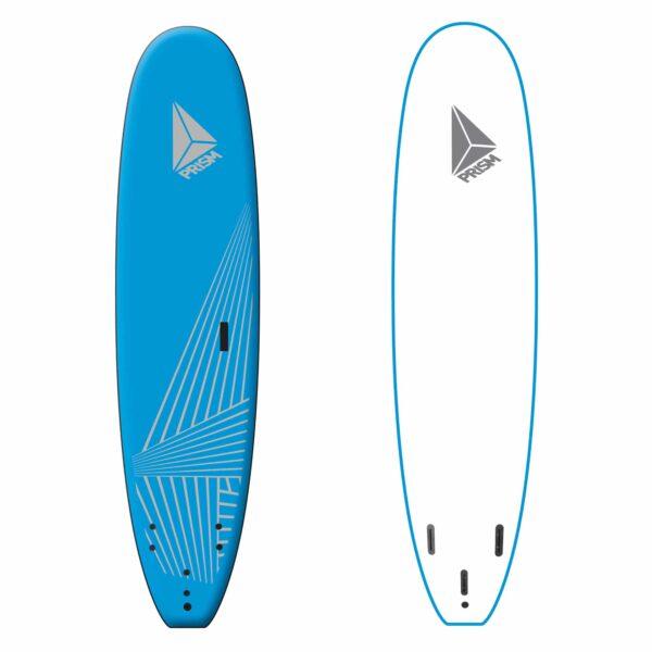 Softboard 7'6 Bleu Prism Surfboards
