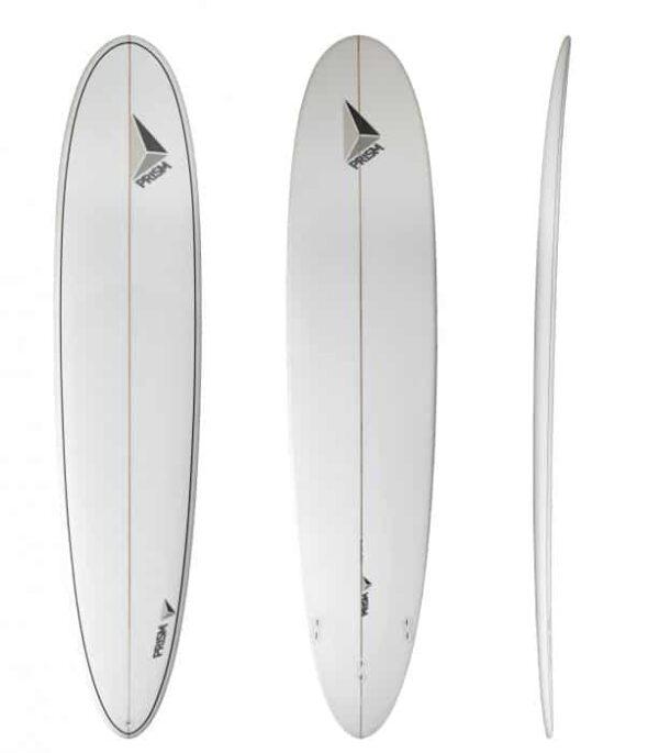 Longboard 9'1 thruster Prism Surfboards