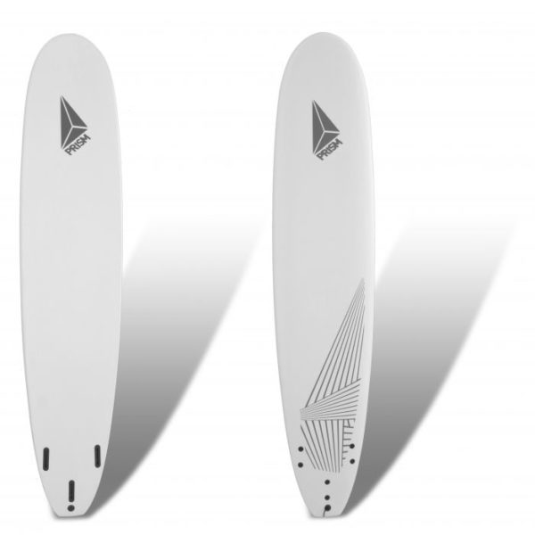 Softboard 9'0 White Prism Surfboards