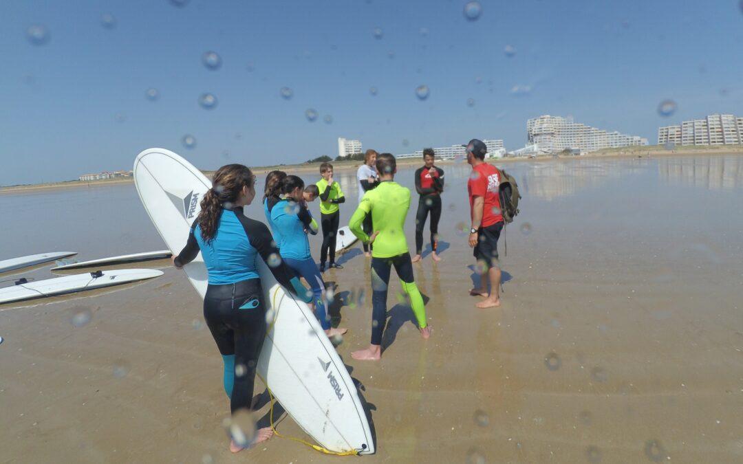 Les 5 erreurs du surfeur débutant