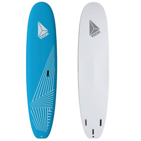 Softboard 8'8 bleu avec poignée de transport