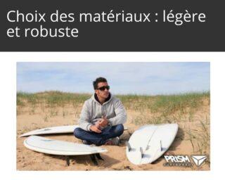 Le conseil du pro pour le choix des matériaux : chez Prism on privilégie une board légère et robuste avec un pain EPS haute densité & résine epoxy... une recette simple qui a fait ses preuves #surfboards #epoxyresin #prismsurfing #howto #surf #surfing - Les conseils de Matthieu en vidéo sur le site (lien dans la bio)