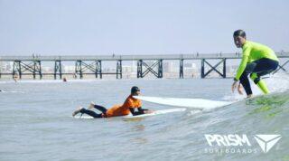 Session de printemps, bonne petites séries sous le soleil... juste parfait ! #surfboards #surfing #surf #saintjeandemonts #vendee #longboardspirit #longboard